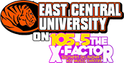 East Central University on 105.5 The X-Factor